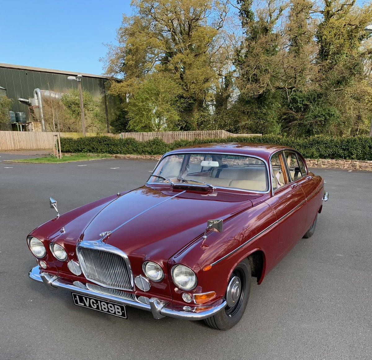 1964 Jaguar MK10, ONLY 49691 MILES  For Sale (picture 3 of 6)