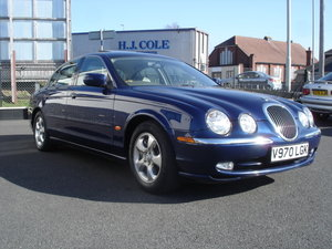JAGUAR S TYPE 4.0 V8 AUTO 2000 ONLY 46K £2950 For Sale