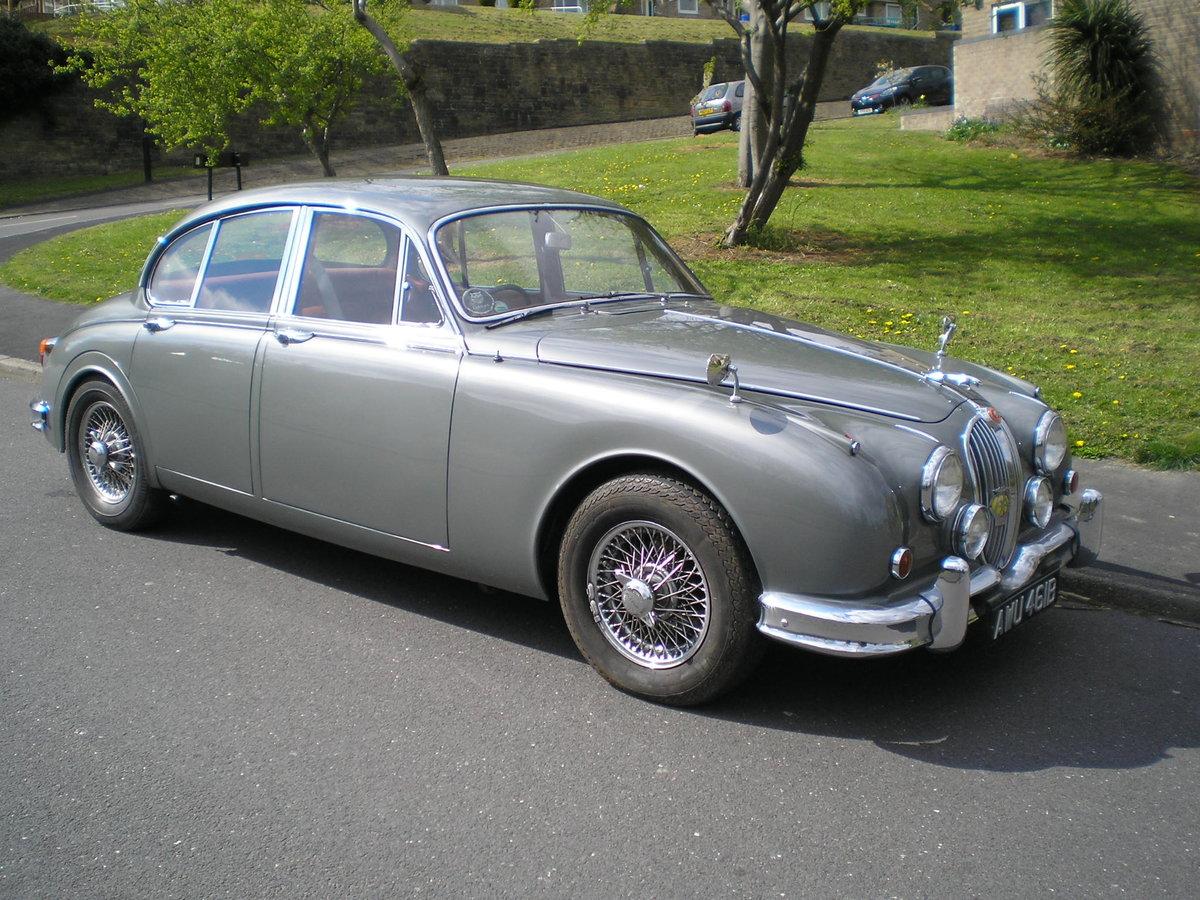 1964 Jaguar Mk 2.3.4 Automatic. SOLD (picture 1 of 6)