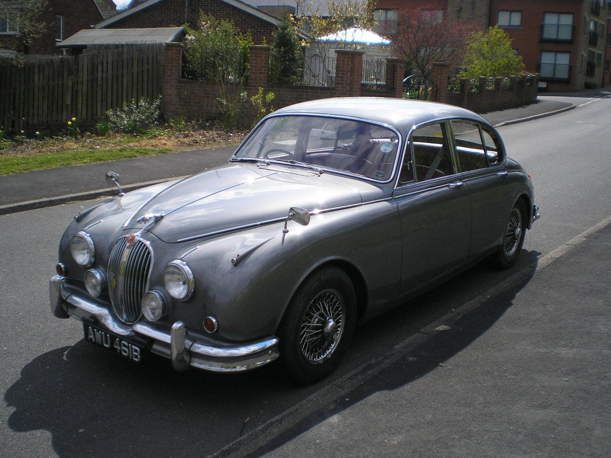 1964 Jaguar Mk 2.3.4 Automatic. SOLD (picture 3 of 6)
