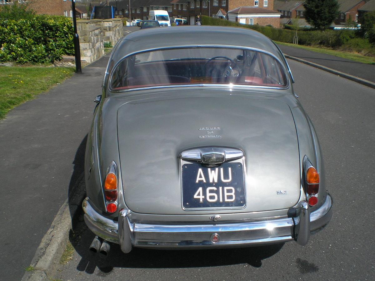 1964 Jaguar Mk 2.3.4 Automatic. SOLD (picture 4 of 6)