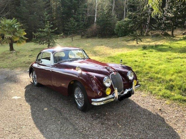 1958 Jaguar XK 150 3.8