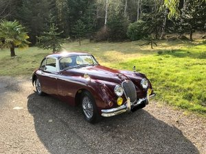 "1958 Jaguar XK 150 3.8 ""S"" Period Competition history."