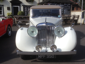 1948, JAGUAR 3 1/2 ltr, MK IV DHC For Sale
