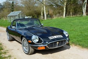 1972 Jaguar E-Type S3 V12 Roadster