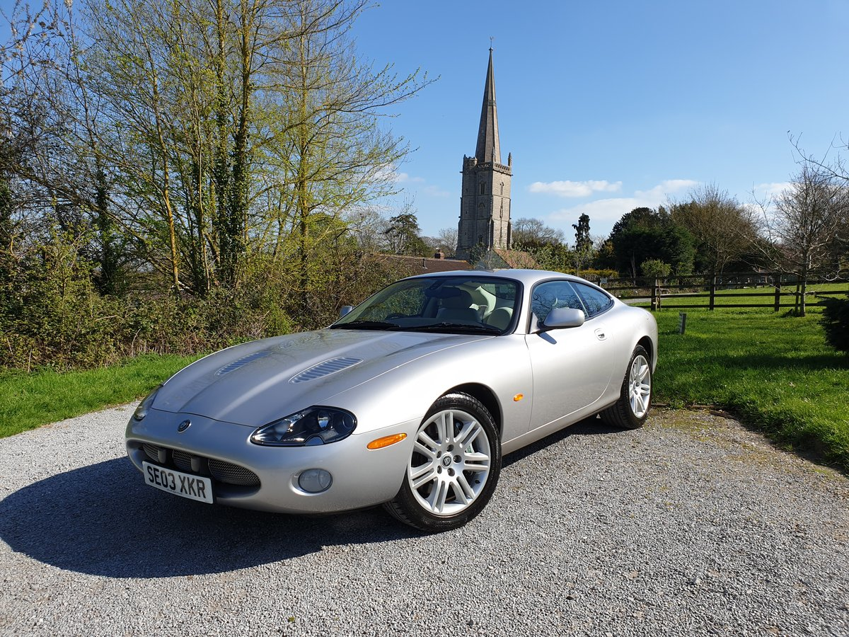 2003 Jaguar XKR Low Mileage Full Jaguar History  For Sale (picture 1 of 6)