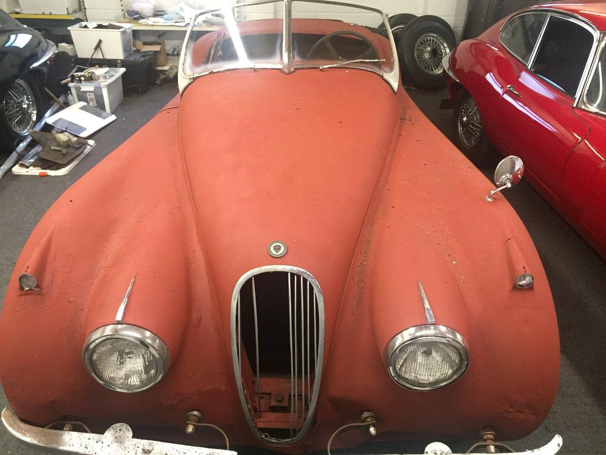 1953 Jaguar XK120 roadster OTS For Sale (picture 2 of 6)