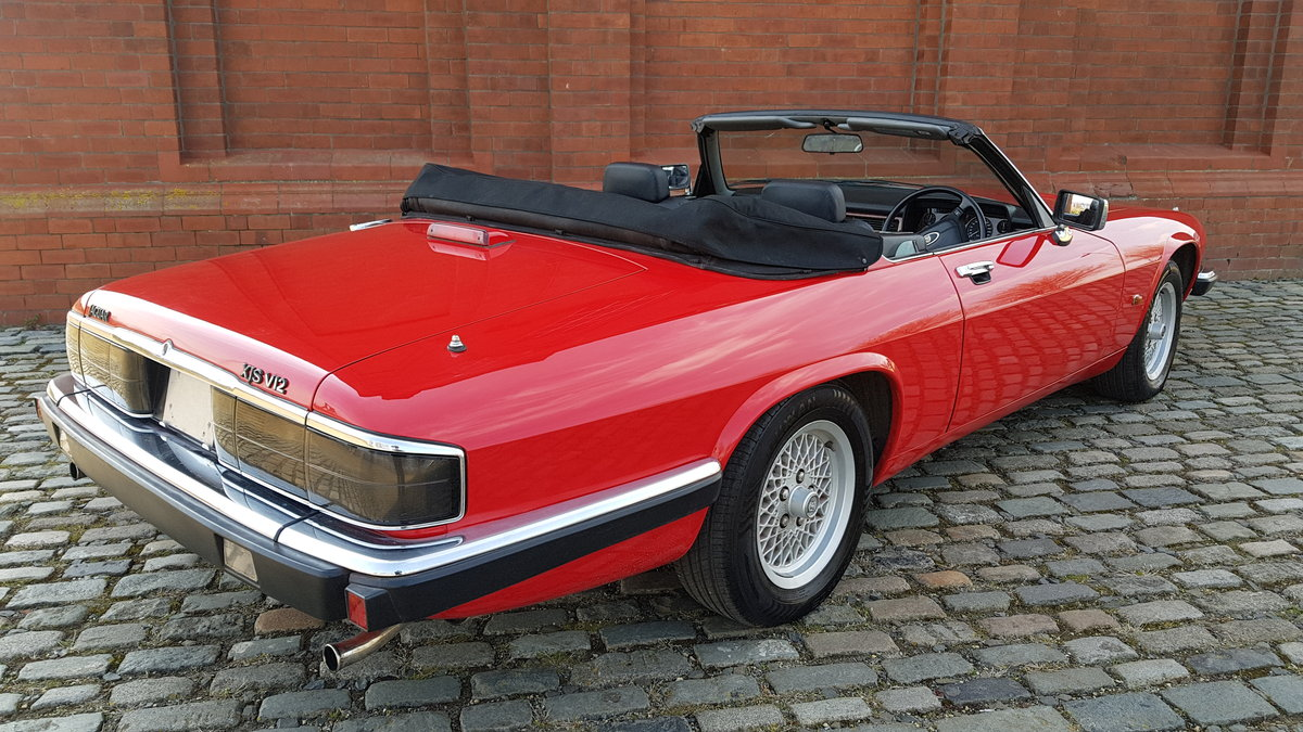 1991 JAGUAR XJS CONVERTIBLE 5.3 V12 RARE IMPORTED RHD AUTO * FRES For Sale (picture 2 of 6)
