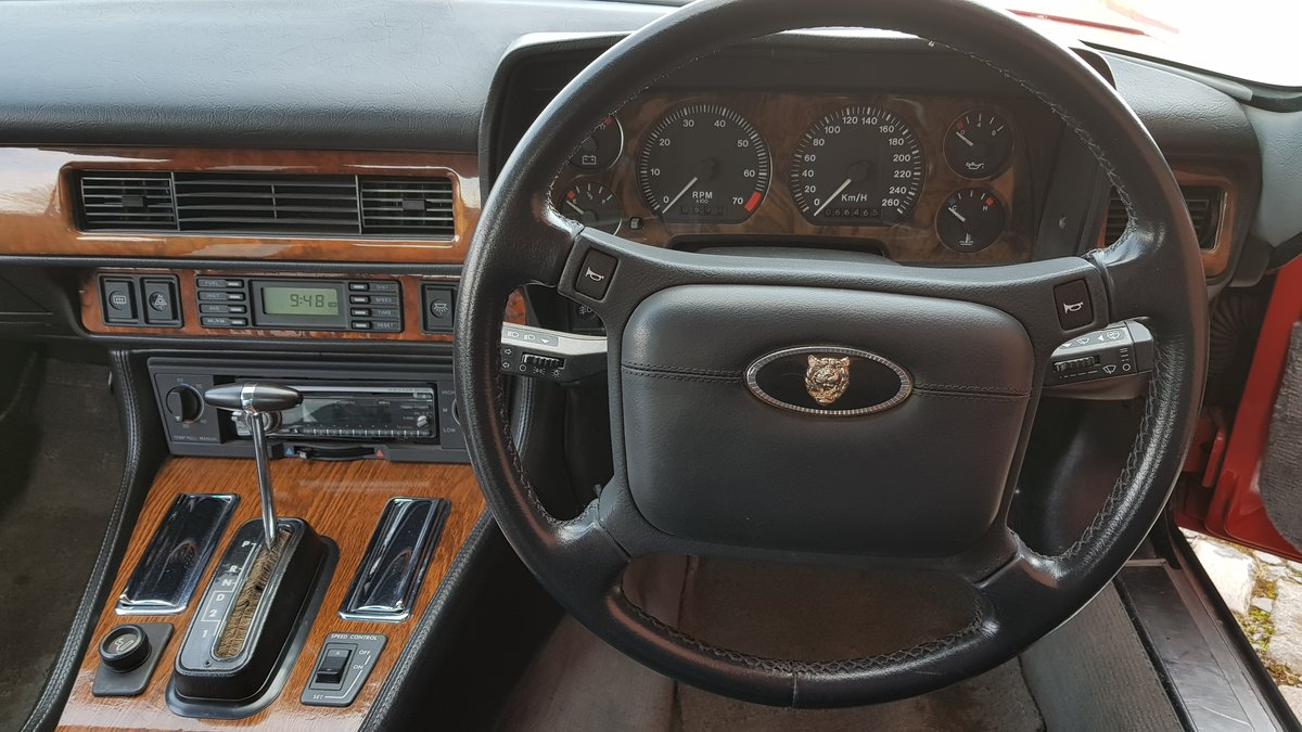 1991 JAGUAR XJS CONVERTIBLE 5.3 V12 RARE IMPORTED RHD AUTO * FRES For Sale (picture 5 of 6)