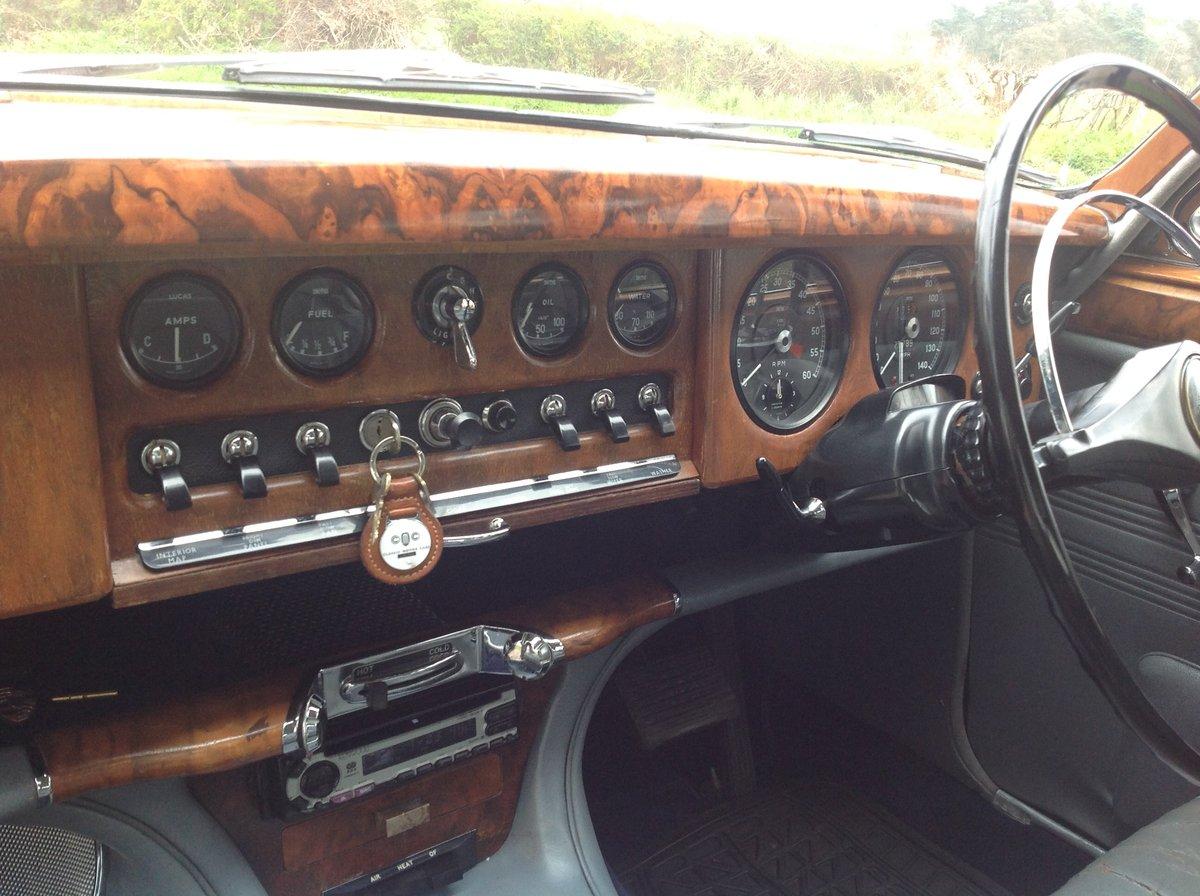 Beautiful Jaguar S Type 3.8cc 1965 Auto Dark Blue For Sale (picture 4 of 6)