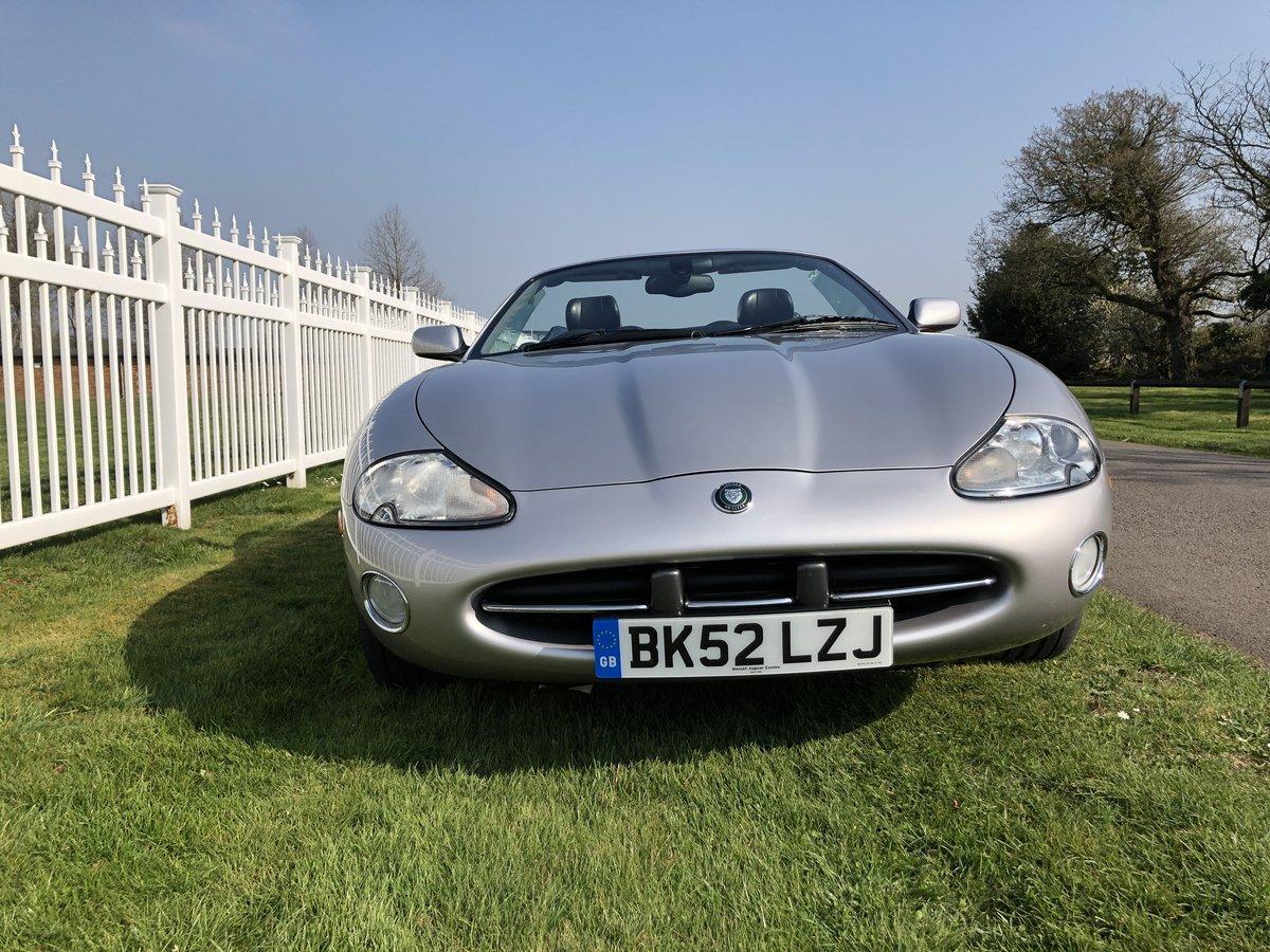 2002 Jaguar XK8 4.0L V8  Convertible  For Sale (picture 1 of 6)