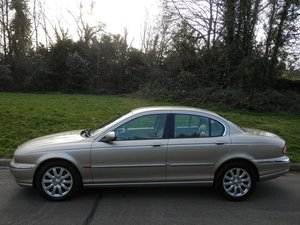 2002  Jaguar X-Type 2.5 V6 (AWD) 4dr  VERY LOW MILES  For Sale