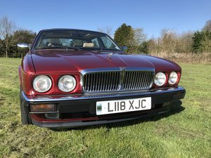 1993 Jaguar XJ, XJ40, low mileage and great condition For Sale