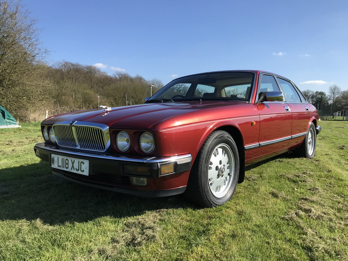1993 Jaguar XJ, XJ40, XJ6, low mileage, great condition For Sale | Car And Classic