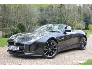 2016 Jaguar F-Type 3.0 V6 Supercharged 2dr AS NEW CONDITION