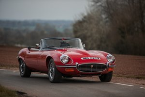 1971 Jaguar E-Type Series 3 V12 Roadster Manual