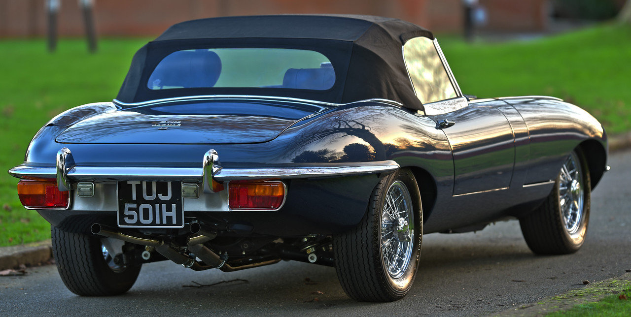 1970 Jaguar E Type Series 2 Roadster SOLD (picture 2 of 6)