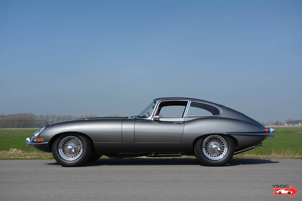 Jaguar E-Type 3.8 Litre Series I Fixed Head Coupe 1964 For Sale (picture 2 of 6)
