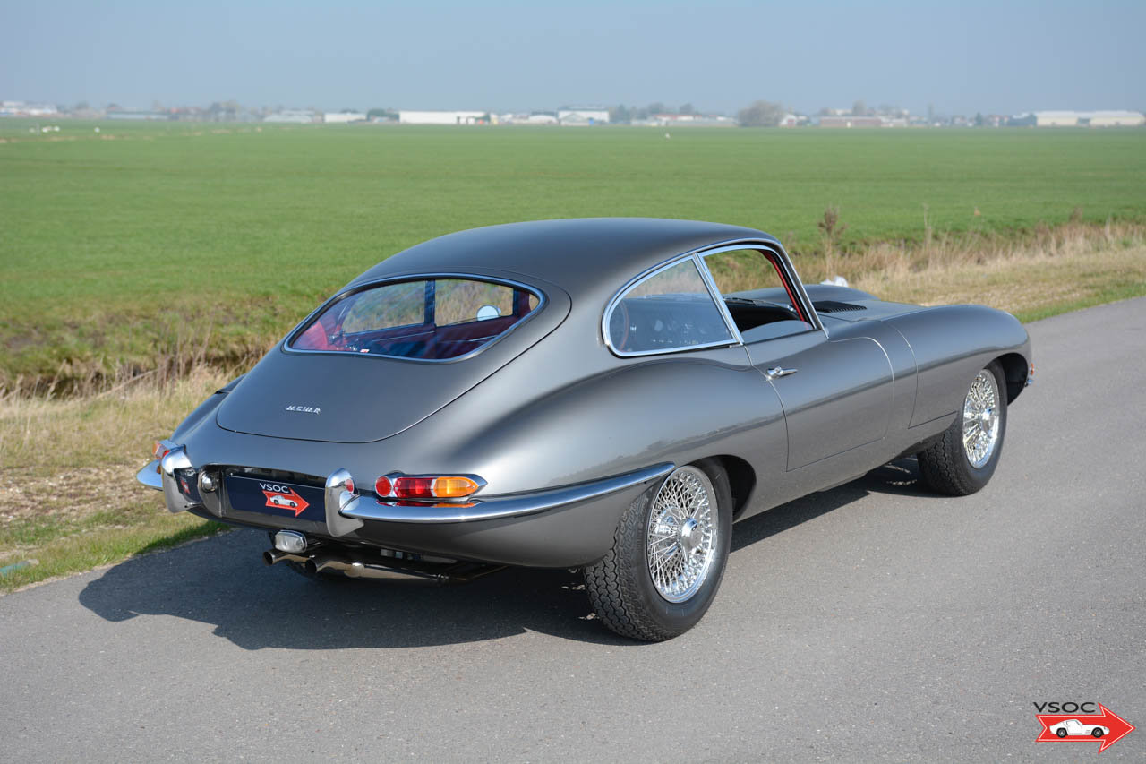 Jaguar E-Type 3.8 Litre Series I Fixed Head Coupe 1964 For Sale (picture 3 of 6)