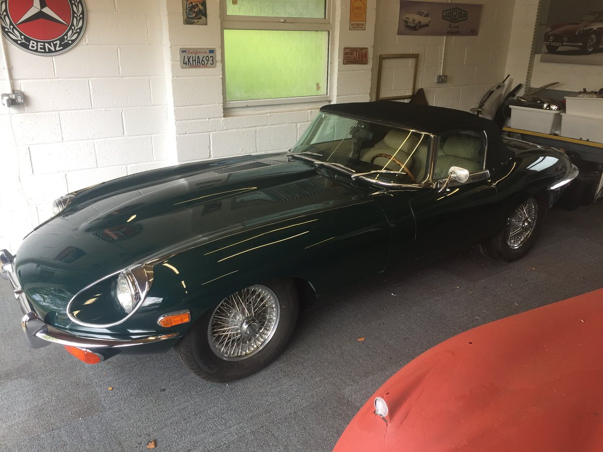 1969 Jaguar Etype Roadster  For Sale (picture 1 of 6)