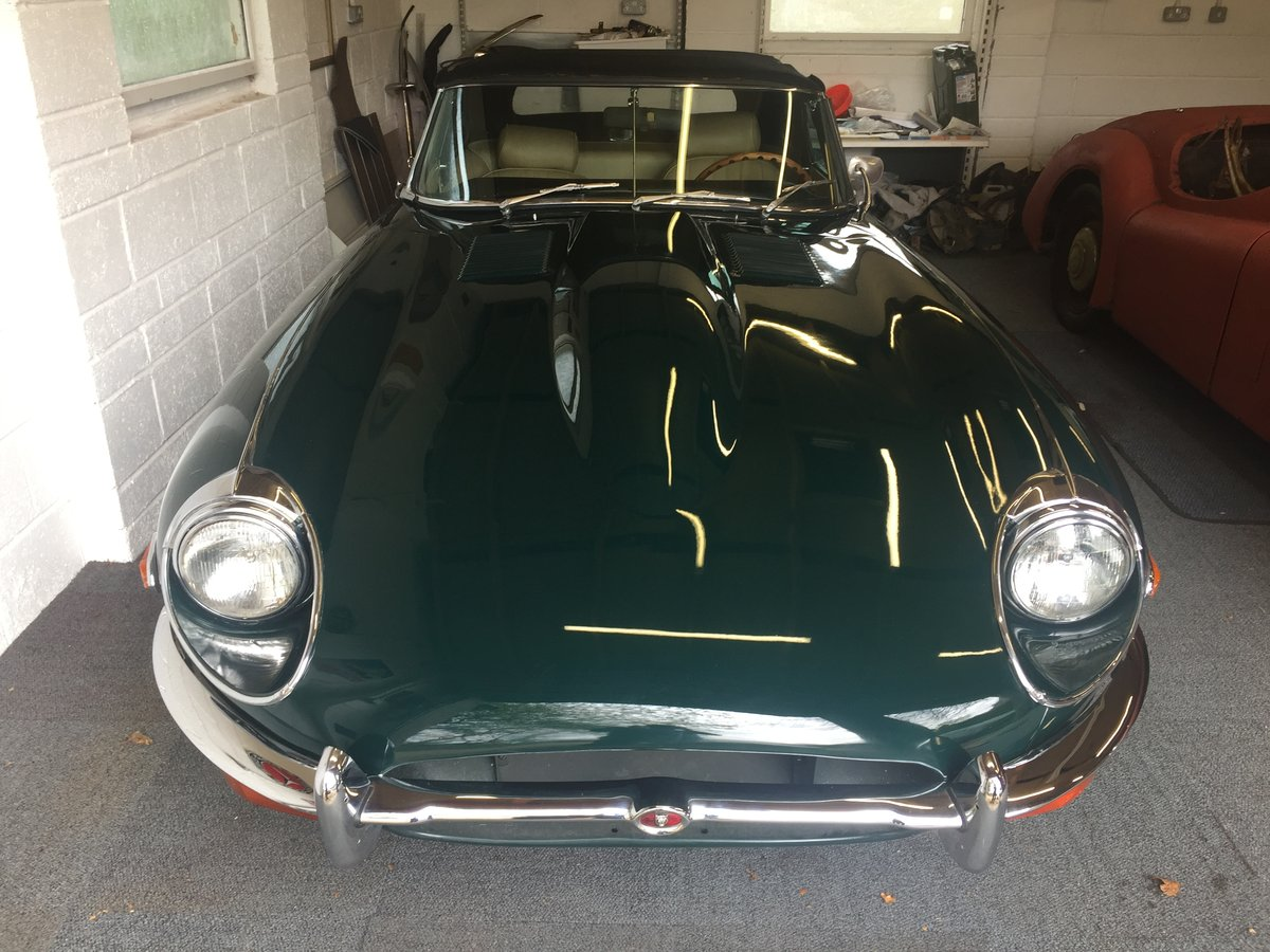 1969 Jaguar Etype Roadster  For Sale (picture 2 of 6)