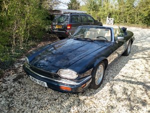 1995 Jaguar XJS Convertible, LHD, AJ16, ongoing project For Sale