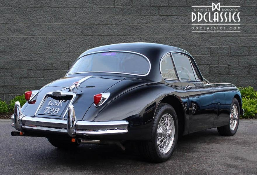 1958 Jaguar XK 150 FHC Fast Road Spec for sale in London(RHD) For Sale (picture 2 of 12)