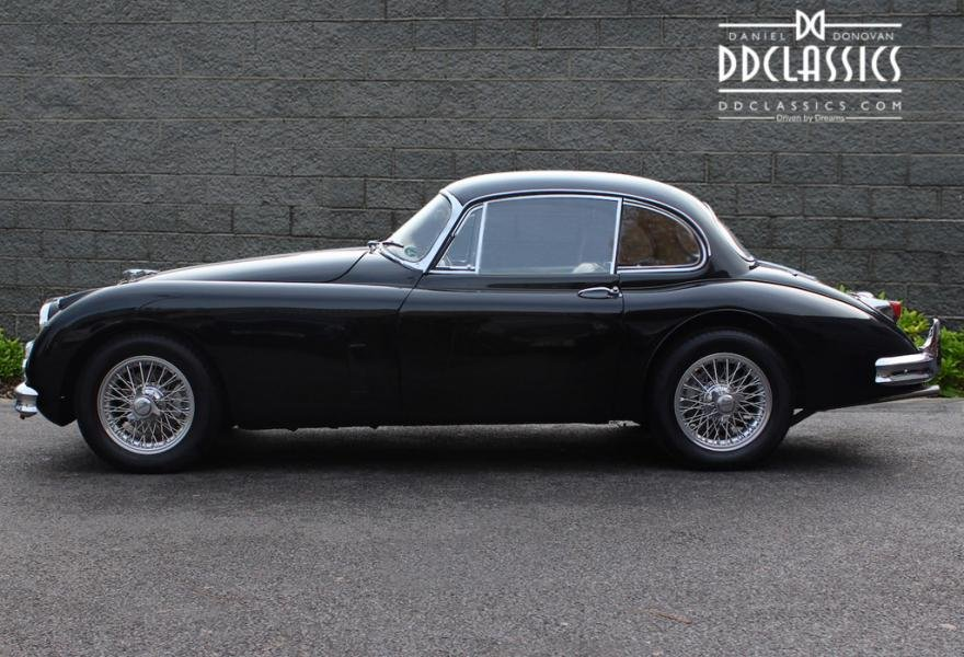 1958 Jaguar XK 150 FHC Fast Road Spec for sale in London(RHD) For Sale (picture 3 of 12)