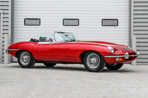 1970 Jaguar E-Type Series II 4.2 Roadster -  For Sale by Auction
