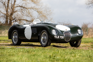 1956 Jaguar C-Type Recreation by Jim Marland For Sale by Auction