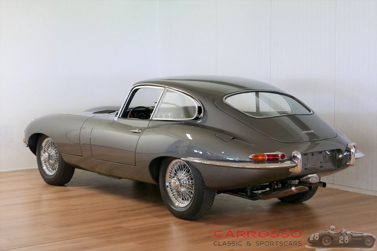 1963 Jaguar E-type Series 1 3.8 Coupé with Matching numbers For Sale (picture 2 of 6)
