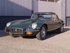 1974 Jaguar E-Type V12 Convertible Series 3 manual gearbox For Sale