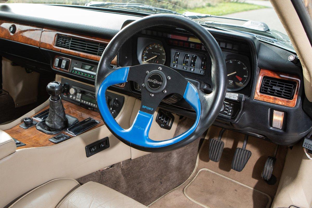 1987 Jaguar XJS V12, 5.3 Manual For Sale (picture 5 of 6)