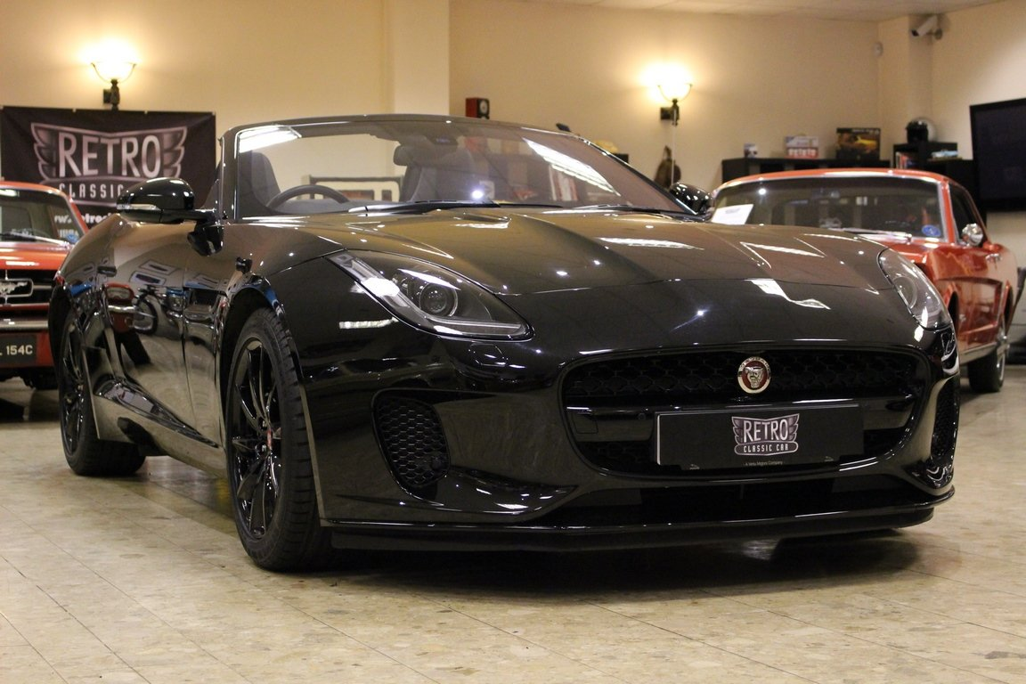 2018 Jaguar F-Type 3.0 Litre V6 340PS Supercharged Convertible  For Sale (picture 1 of 6)