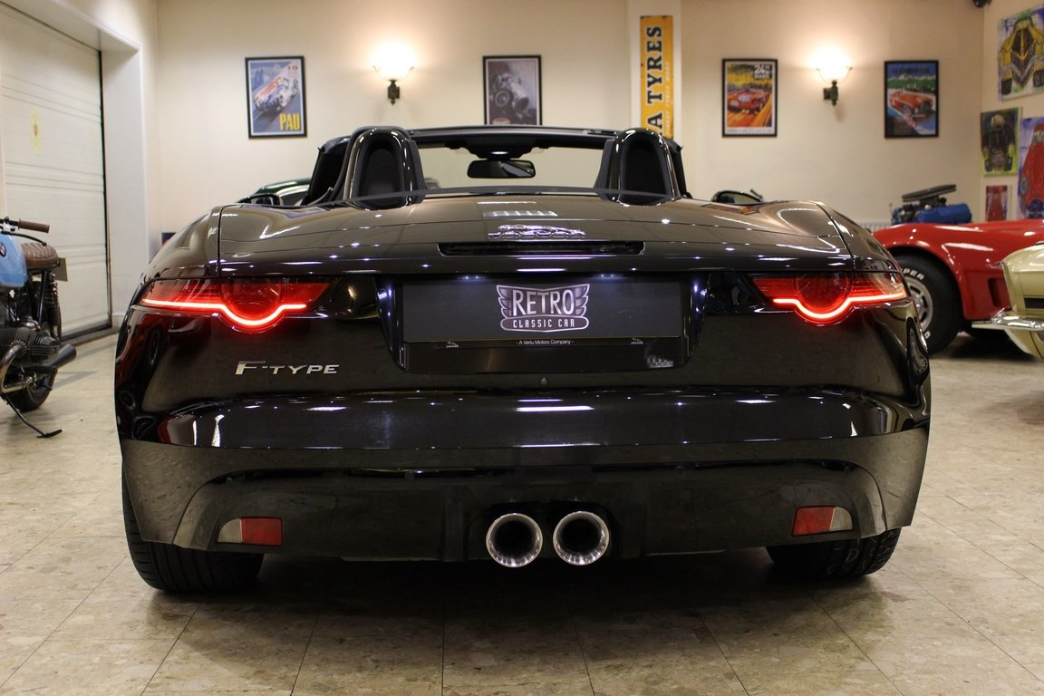 2018 Jaguar F-Type 3.0 Litre V6 340PS Supercharged Convertible  For Sale (picture 2 of 6)