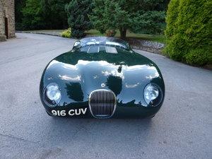 1961 1952 Jaguar C-type aluminium replica