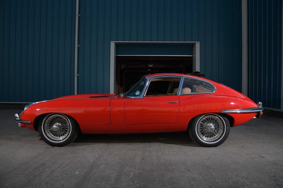 Jaguar E-Type 1970 FHC S2 - the rarest of them all For Sale (picture 1 of 6)