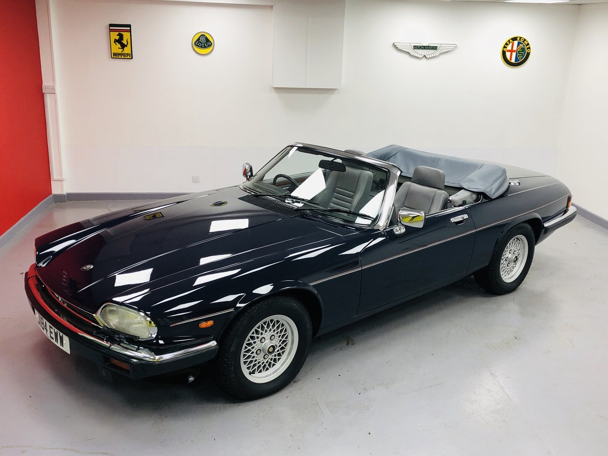 1992 Jaguar XJS 5.3L V12 Convertible 40000 miles only. For Sale (picture 1 of 6)