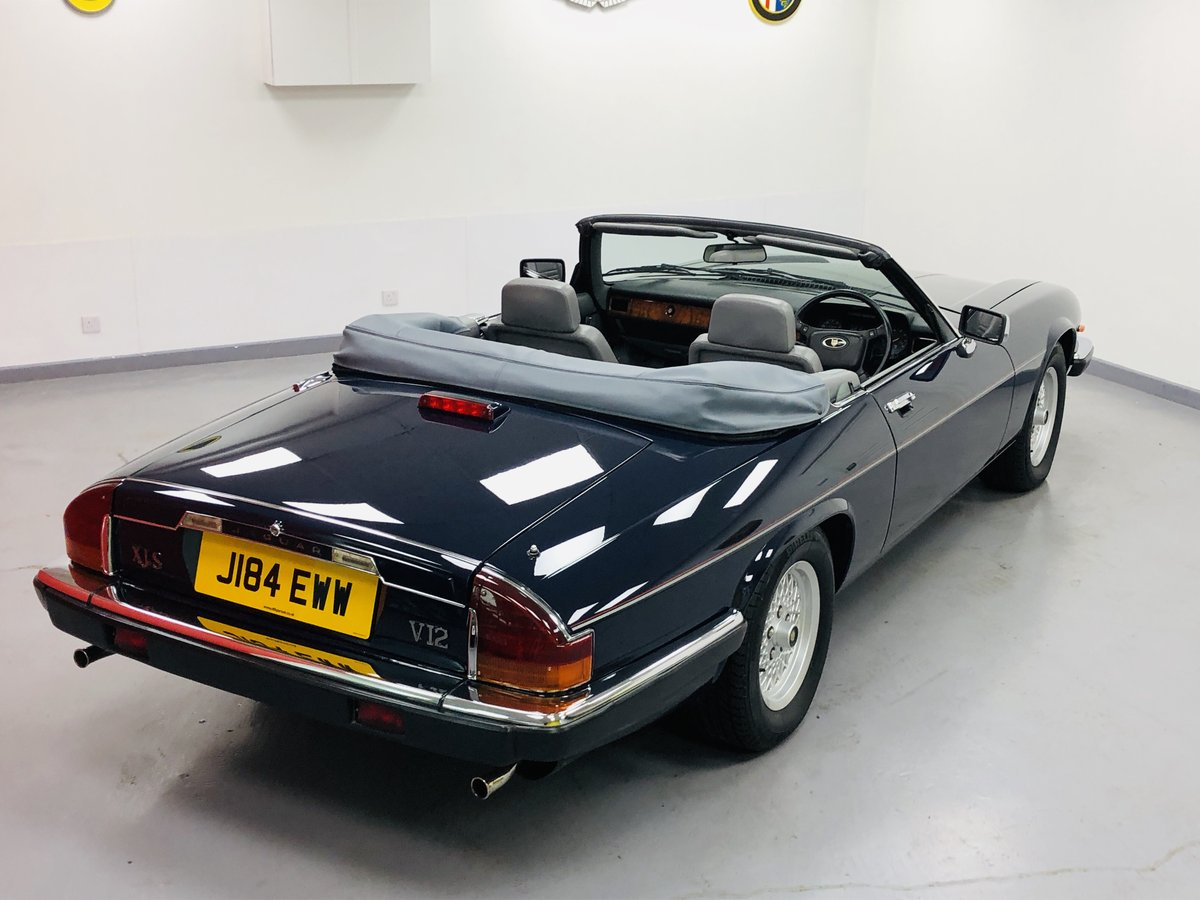 1992 Jaguar XJS 5.3L V12 Convertible 40000 miles only. For Sale (picture 2 of 6)
