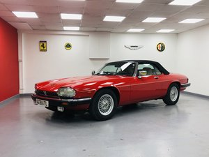 1989 Jaguar XJS 5.3L V12 Convertible 18000 miles only. For Sale