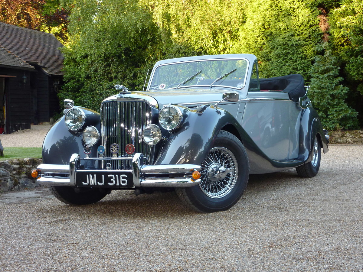 1951 Jaguar Mark V Drop Head Coupe For Sale (picture 1 of 5)
