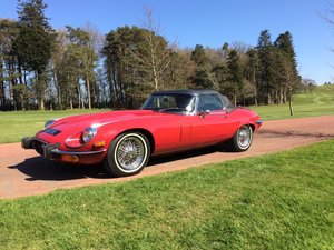 1973 V12 E type Series 3 Roadster