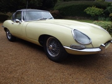 1963 Series One e-type 3.8 roadster