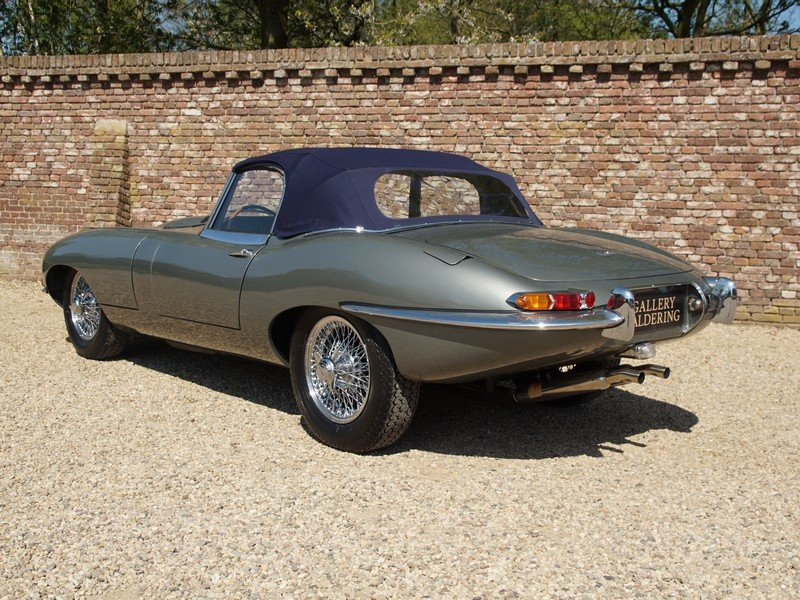 1962 Jaguar E-Type 3.8 Series 1 Convertible matching numbers For Sale (picture 2 of 6)