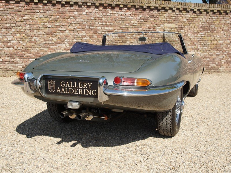 1962 Jaguar E-Type 3.8 Series 1 Convertible matching numbers For Sale (picture 5 of 6)