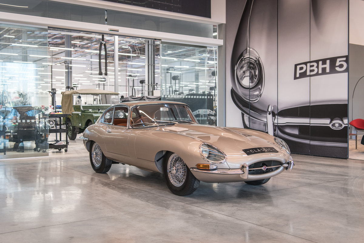 1964 Jaguar E-Type 3.8 Coupe For Sale (picture 1 of 6)
