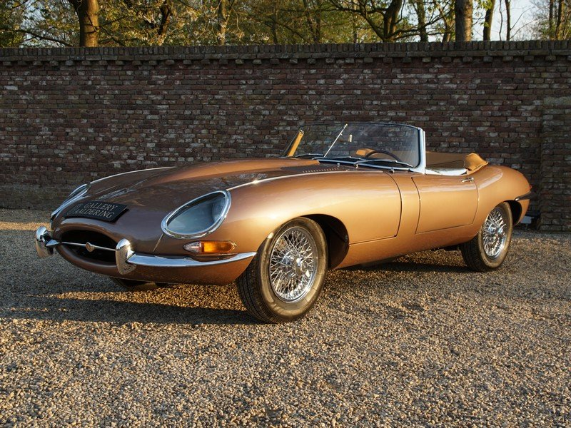 1963 Jaguar E-Type 3.8 Series 1 Convertible restored condition For Sale (picture 1 of 6)