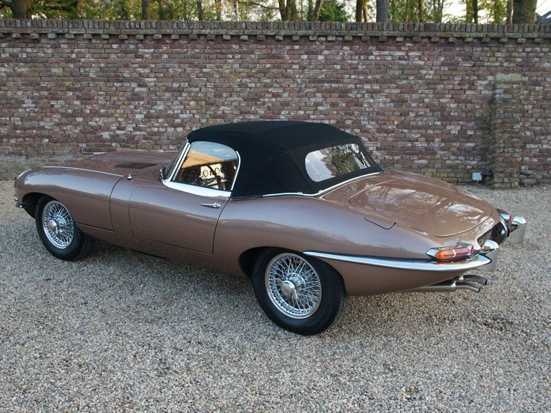 1963 Jaguar E-Type 3.8 Series 1 Convertible restored condition For Sale (picture 2 of 6)