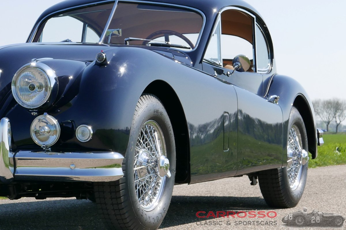1956 Jaguar XK140 FHC Completely restored with matching numbers ! For Sale (picture 6 of 6)