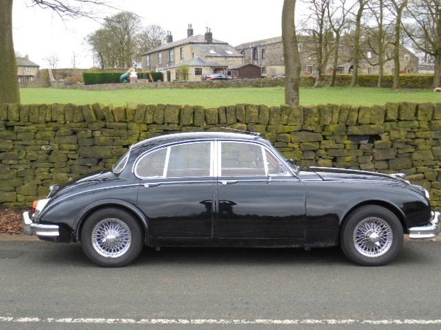 1965 Jaguar Mk2 3.4Ltr  For Sale For Sale (picture 1 of 6)